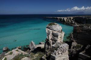 Il mare delle Egadi - Scorcio di Cala Rossa (Favignana)