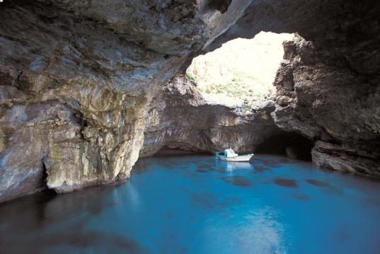 La Grotta del Cammello a Marettimo