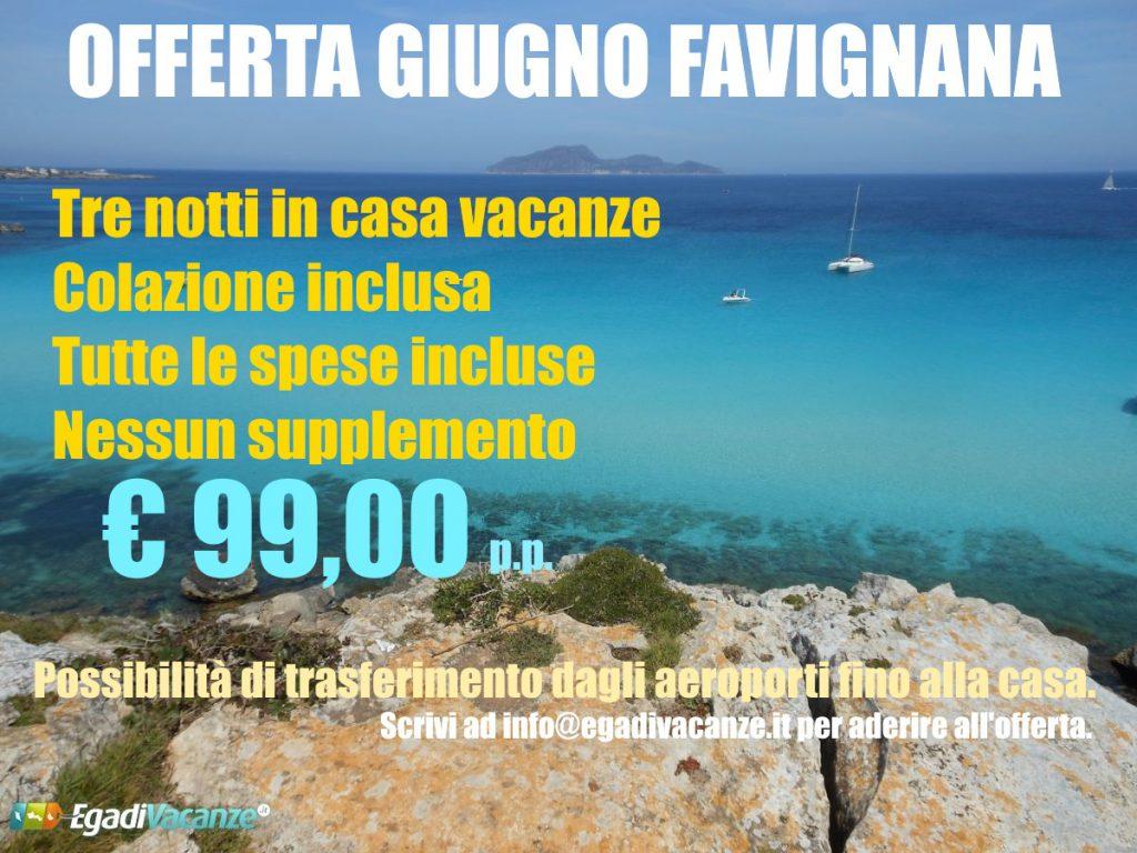 Favignana offerte offerte 2019 per una vacanza a favignana for Soggiorno favignana